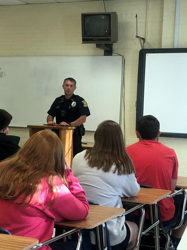 Bristol Tennessee Police Department - Guest Speaker | Tennessee